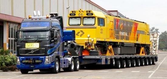 Bardzo dobra Transport ponadgabarytowy, niskopodwoziowy, ciężki - TG EJ46